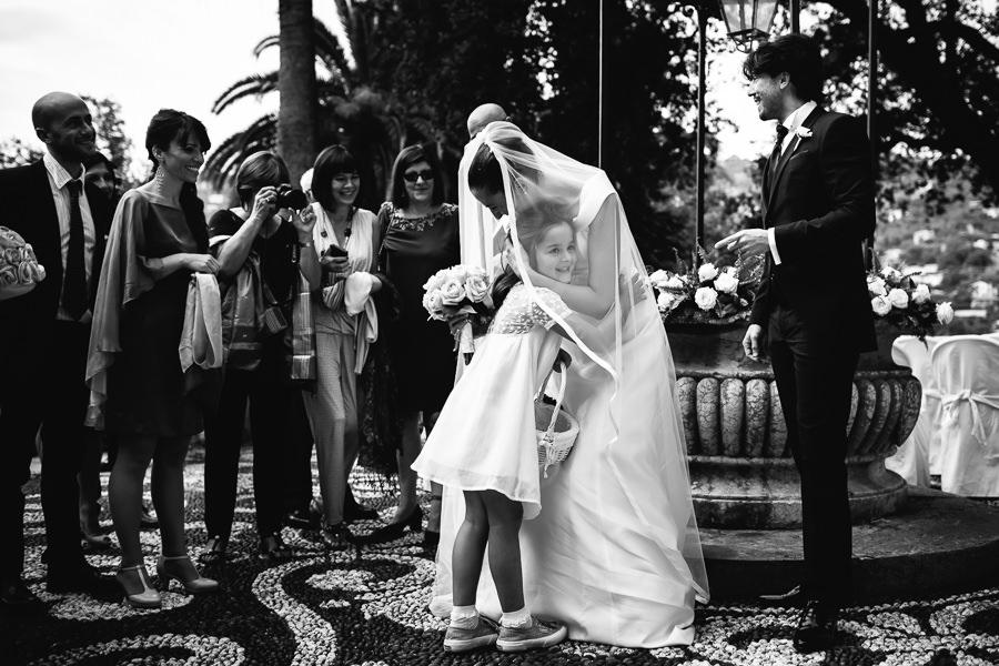 Fotografo Matrimonio Villa Durazzo Santa Margherita Ligure