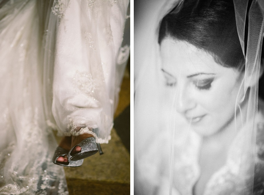 jewish bride sees groom for the first time before wedding in italy destination wedding florence tuscany