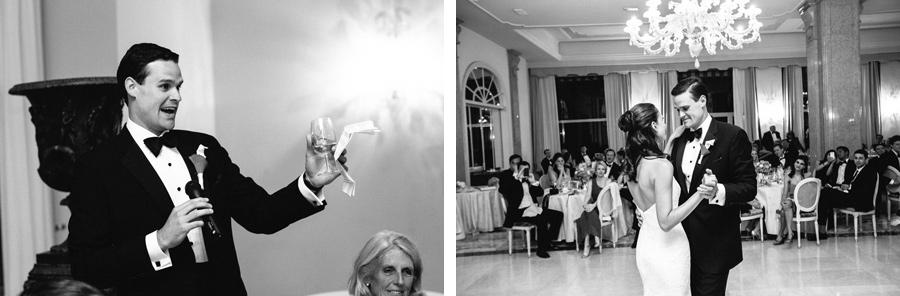 wedding dinner at Palace Hotel Villa Cortine, sirmione, lake garda, groom's speech
