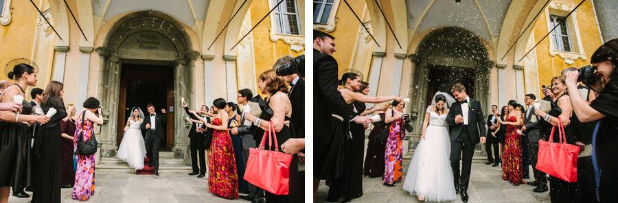 Orta San Giulio, wedding ceremony at Santa Assunta