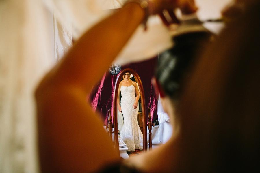 Bride Preparations Tuscany