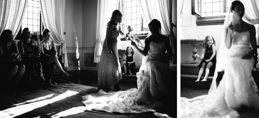 Wedding Preparation Photos Tuscany