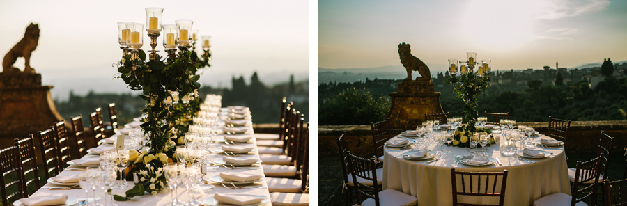 Wedding Tables in Italy