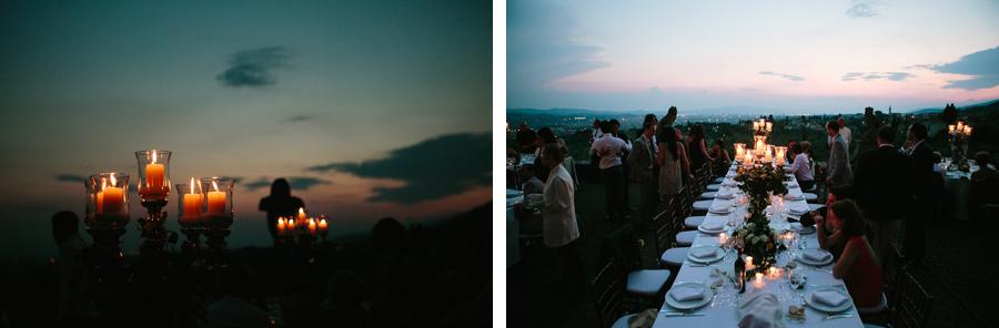 Wedding Reception Jewish Wedding in Florence