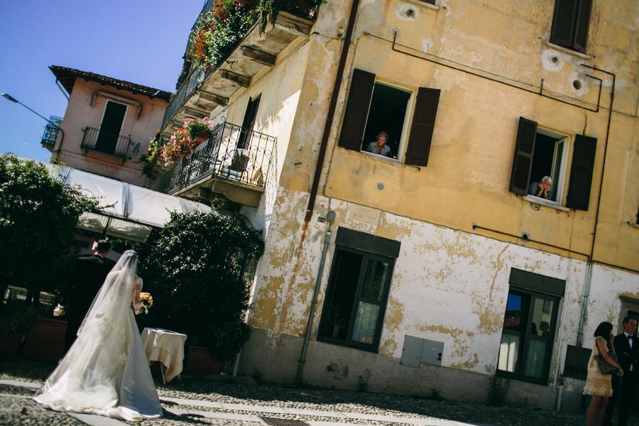 Wedding San Leonardo church in Pallanza, Lake Maggiore, Italy.