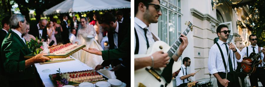 Wedding Reception at Grand Hotel des Iles Borromees, Stresa, Italy
