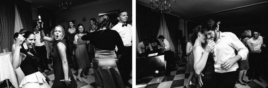 Wedding dances at Grand Hotel des Iles Borromees, Stresa, Italy