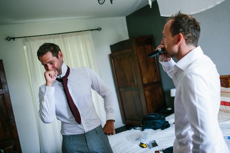 Piemonte Wedding Photographer Groom Getting Ready