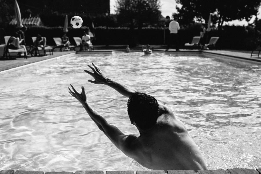 Swimming Pool Villa Baroncino Wedding