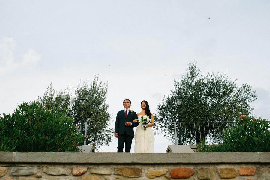 Villa Baroncino Wedding Ceremony
