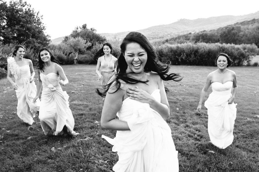 Wedding Ceremony Tuscany Bridal Party Photos