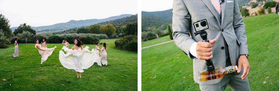 Wedding Ceremony Tuscany GoPro Whiskey