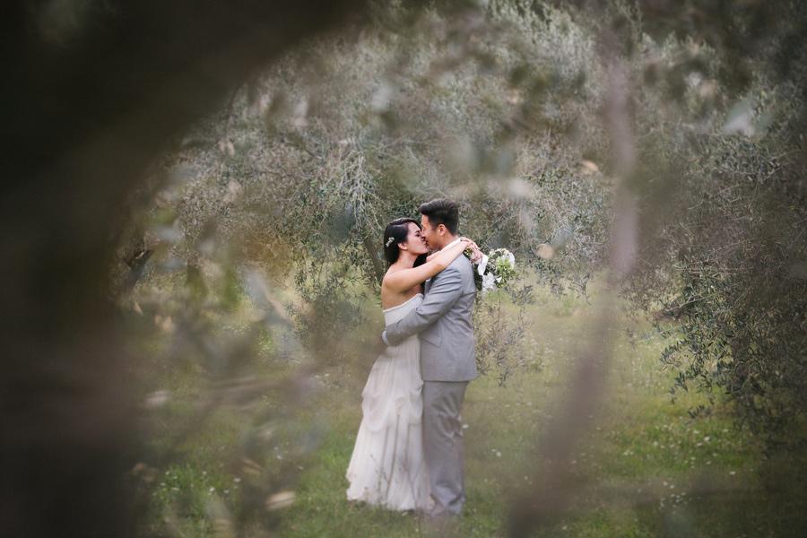 Villa Baroncino Wedding Portraits Bride and Groom Julian Kanz