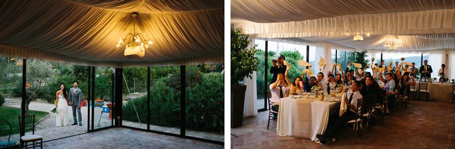 Villa Baroncino Wedding Reception