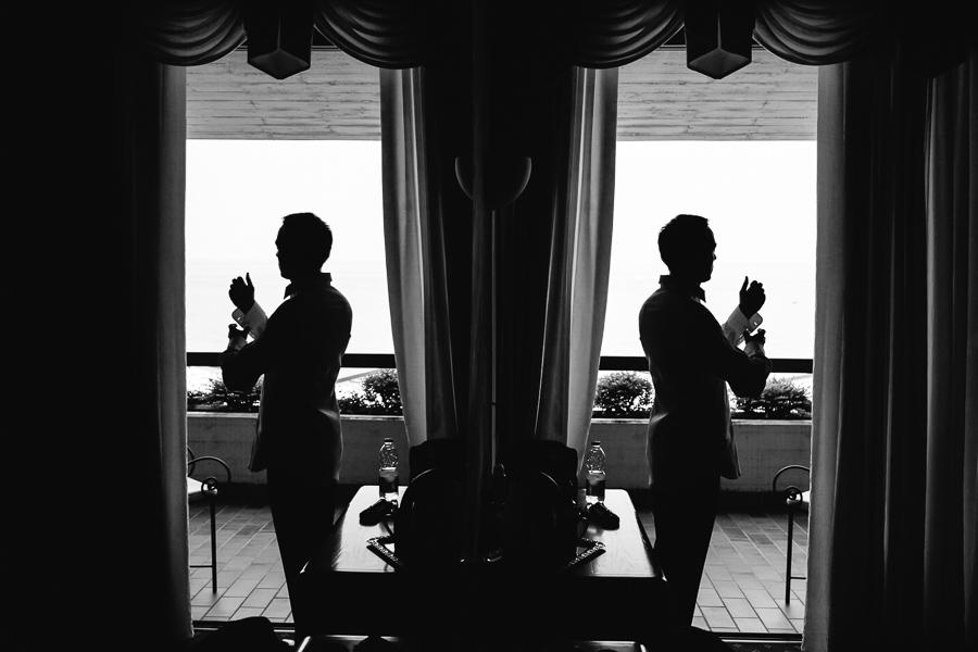 Hotel Aquila d'Oro Matrimonio Preparazione Sposo