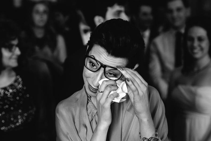 lacrime durante matrimonio