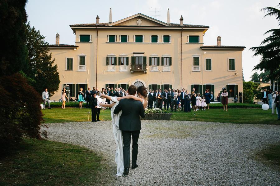 Ricevimento matrimonio Villa La Tassinara lago di garda