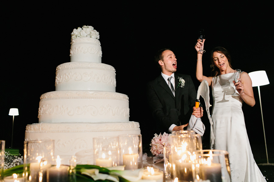 Taglio Torta Fotografi di Matrimonio Lago di Garda