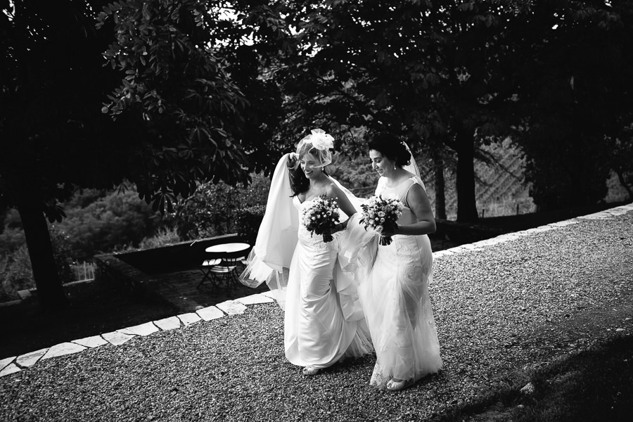 Same-Sex Wedding Brides