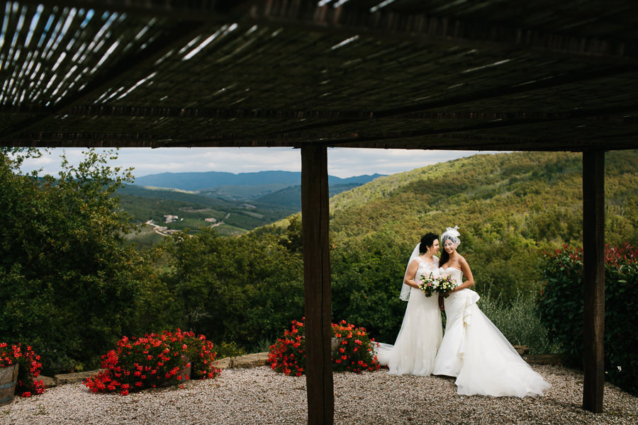 Gay Wedding Ceremony Tuscany