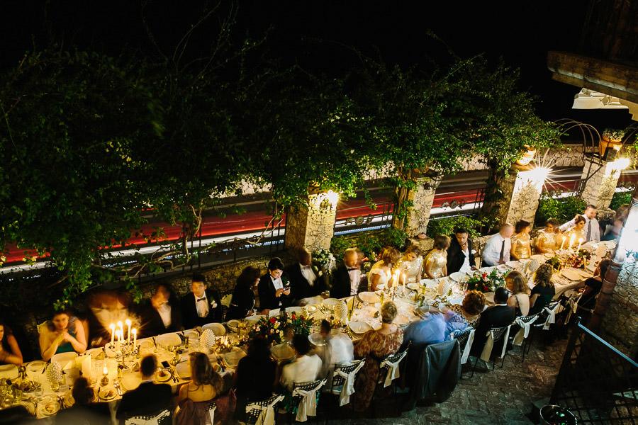 Ristorante Villa Antonio Wedding Dinner