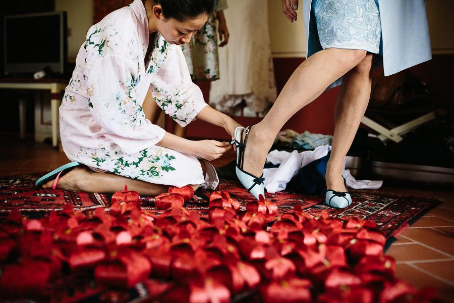 Chinese Wedding Tuscany