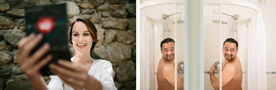 Bride and Groom Preparation Cinque Terre Wedding Photographer