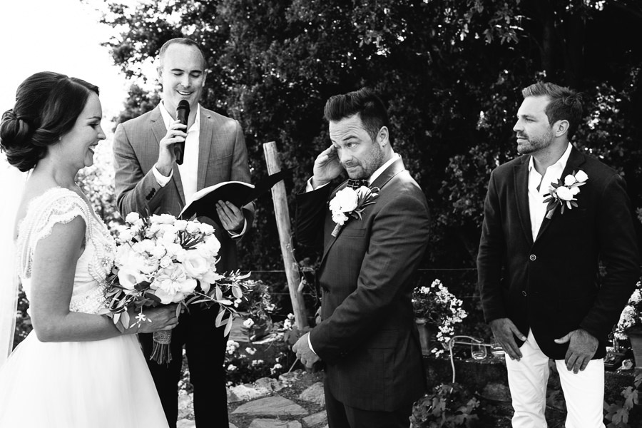 Buranco Vineyard Cinque Terre Wedding Ceremony