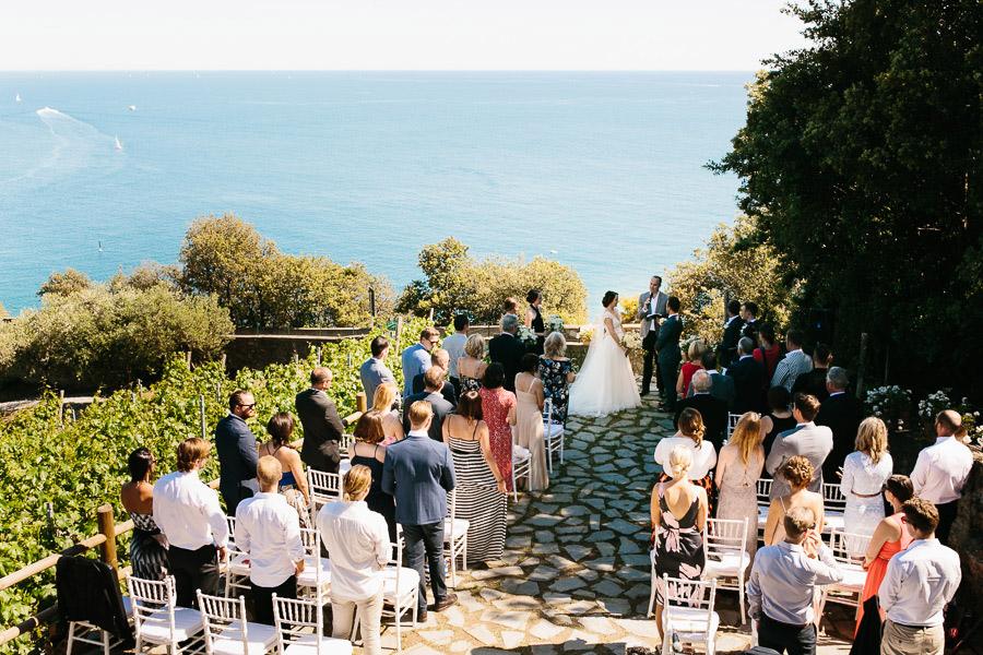 Buranco Vineyard Wedding Ceremony
