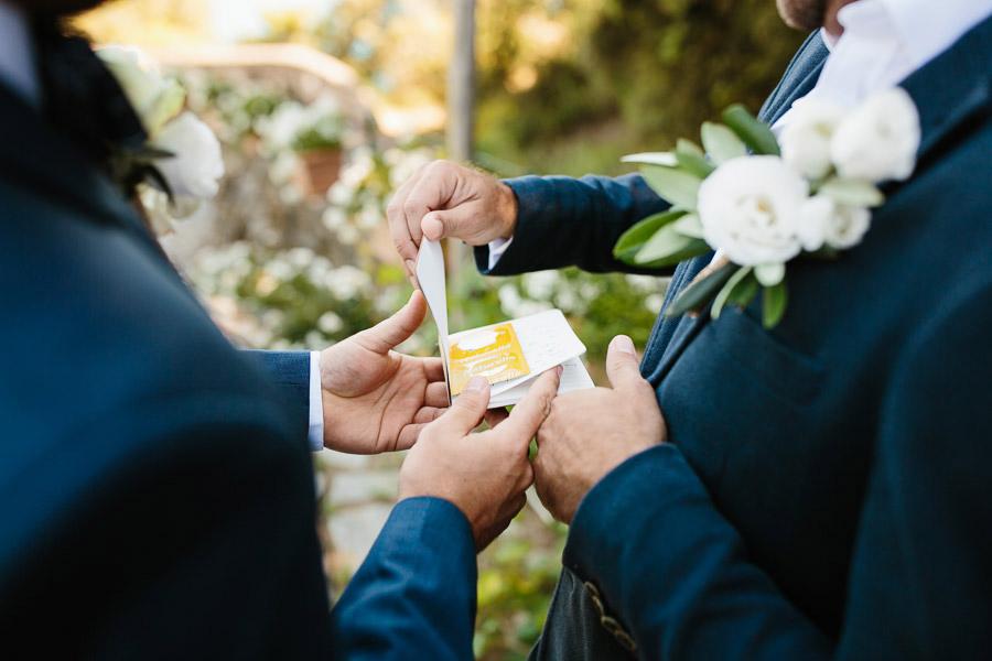 Buranco Vineyard Wedding Vows