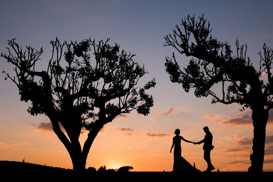 Sunset Wedding Photos Tuscany