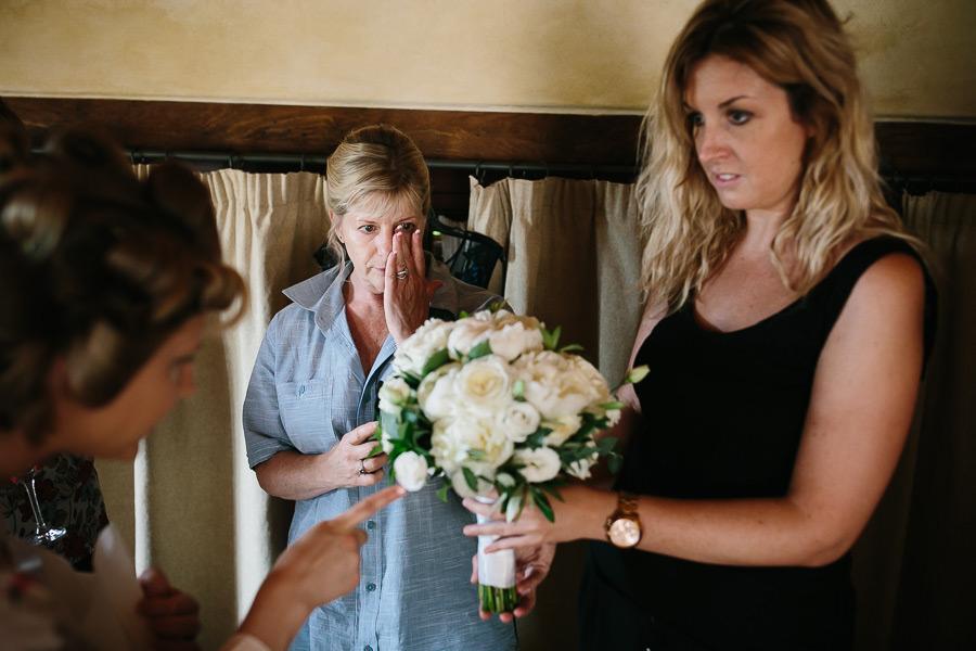 Tuscany Wedding Preparations Photographer