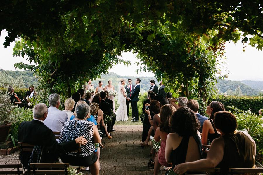Tuscany Wedding Ceremony Photographer