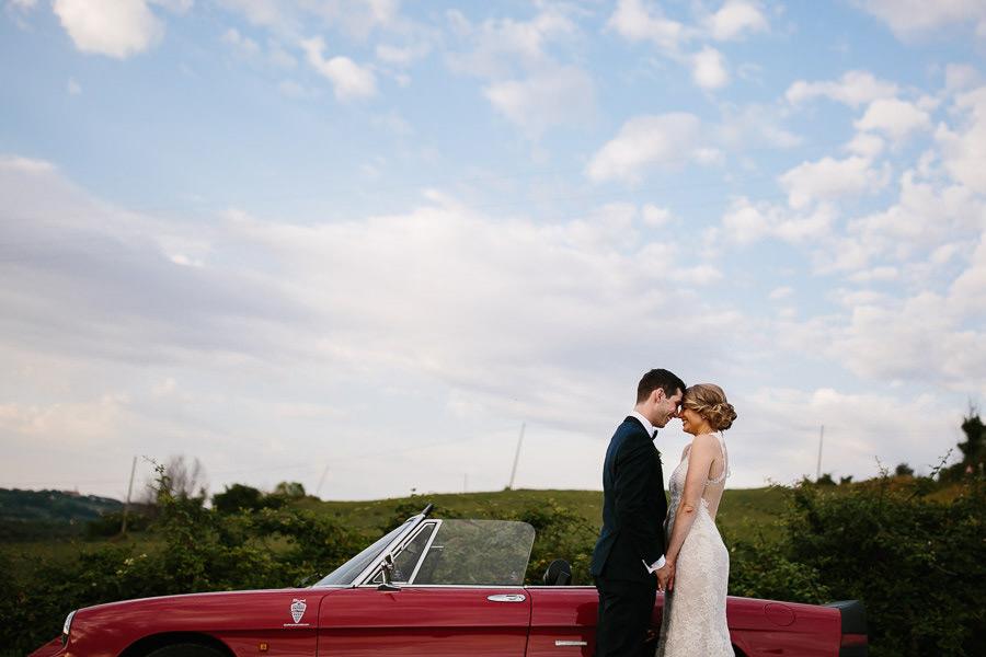 Alfa Romeo Spider Wedding Photographer