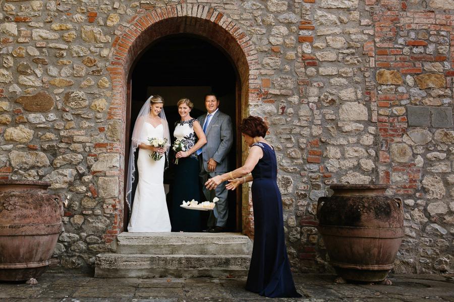 Villa La Selva Tuscany American Italian Wedding