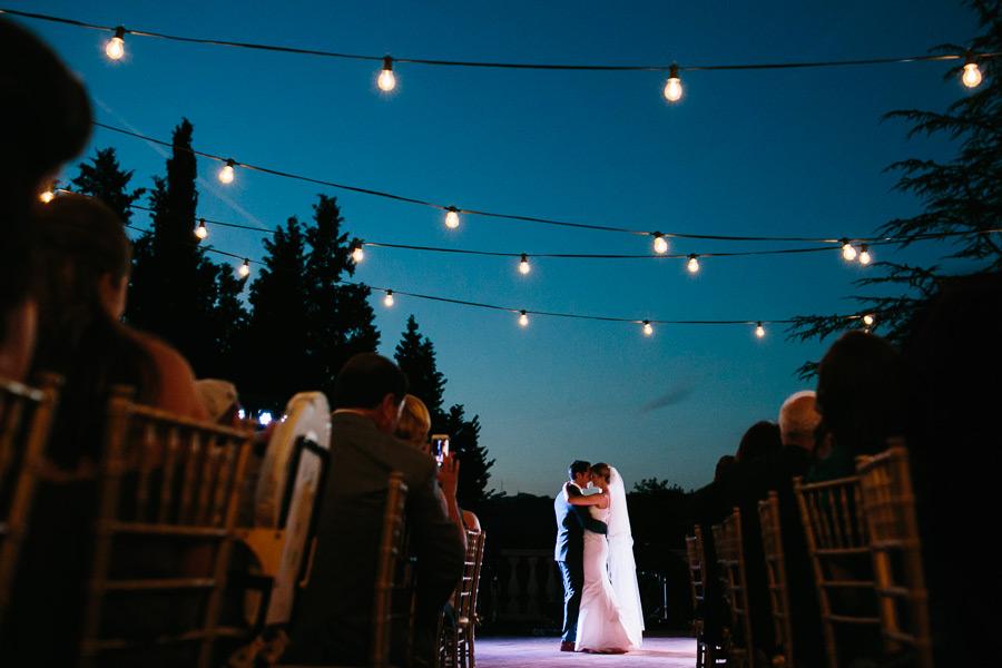 Villa La Selva Tuscany Wedding First Dance