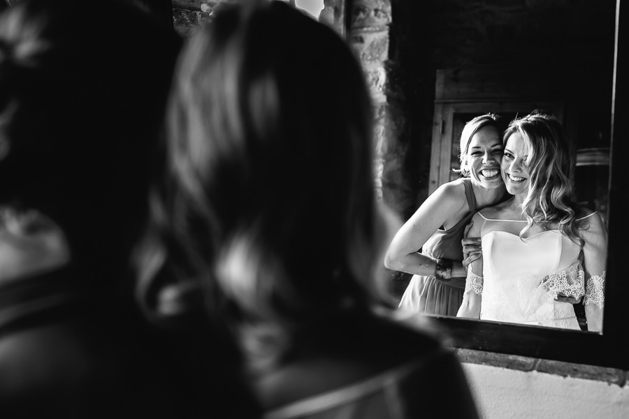 Bride Preparation Tuscany Wedding Photographer
